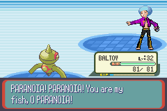 Pokemon Snakewood - Battle  - Uhh Ok... - User Screenshot